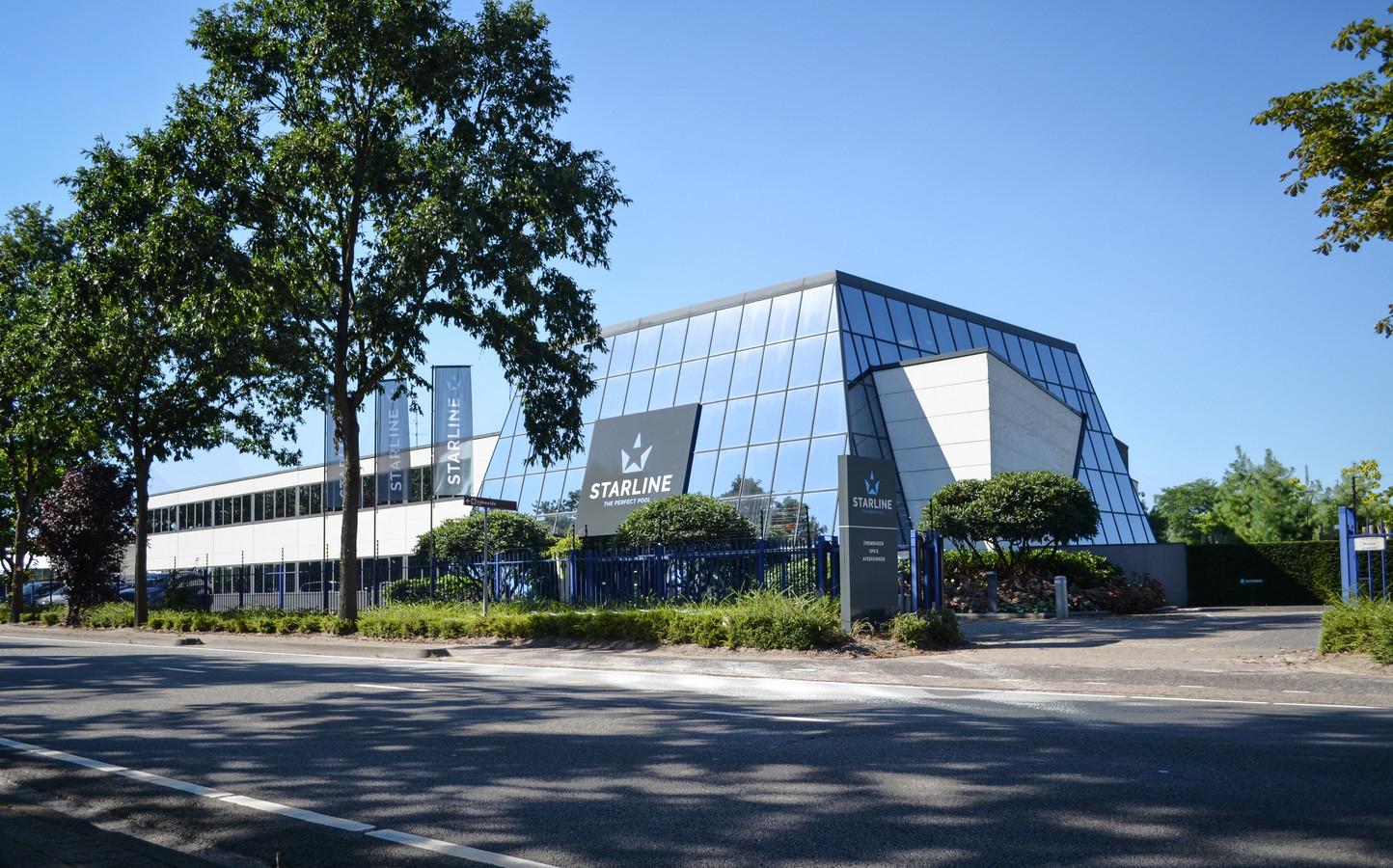 Het hoofdkantoor van Starline Group in Valkenswaard.