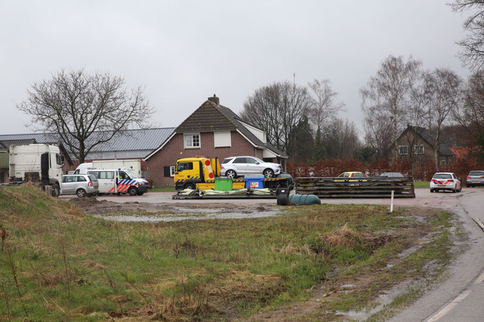 Inval bij Daas in Wintelre.