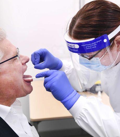 In Twente en de Achterhoek stijgt het aantal besmettingen nog