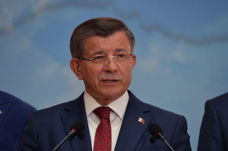 Ahmet Davutoglu. Beeld EPA