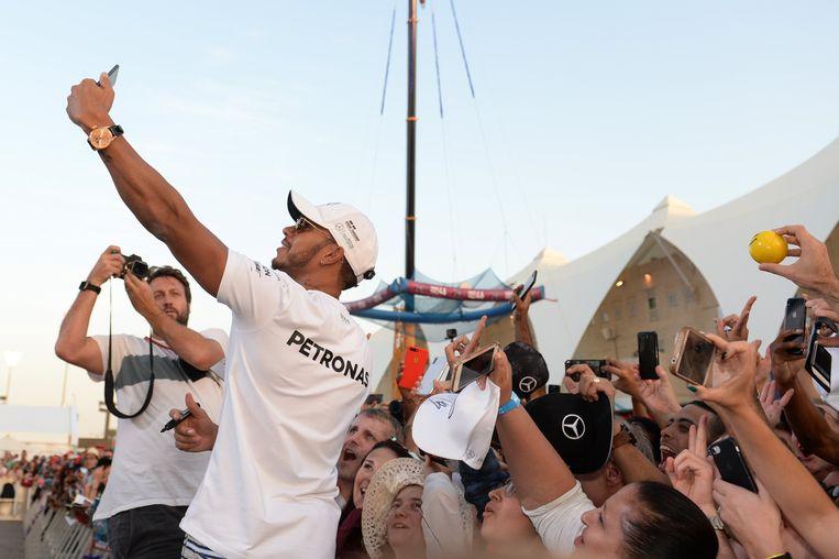 Lewis Hamilton: god in Abu Dhabi.