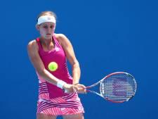 Première victoire sur le circuit WTA pour Greet Minnen