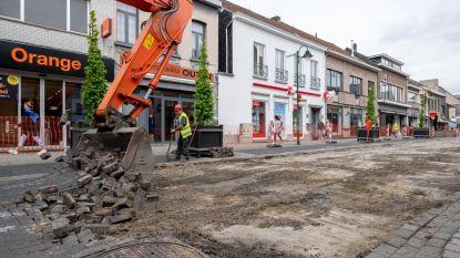 Werken Bergstraat gestart