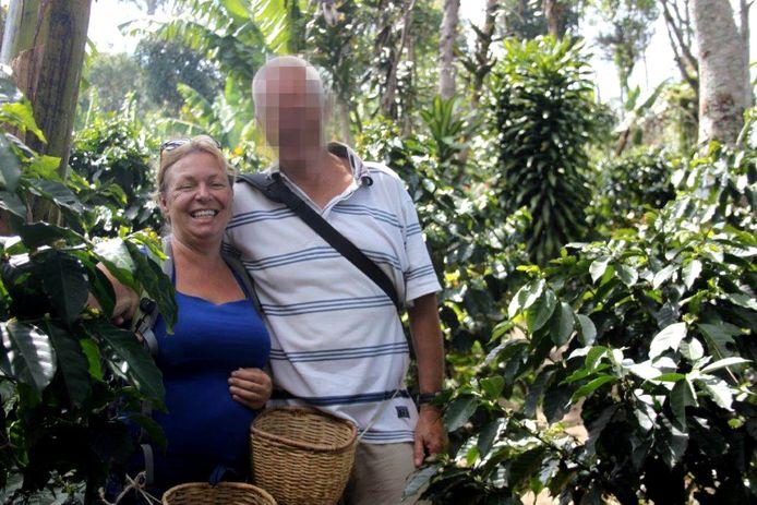 Durdana de Bruijn uit Heino met partner Peter P., die nu verdacht wordt van het doden van De Bruijn.
