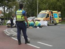 Snorfietser gewond bij ongeval op rotonde Zwolseweg in Deventer
