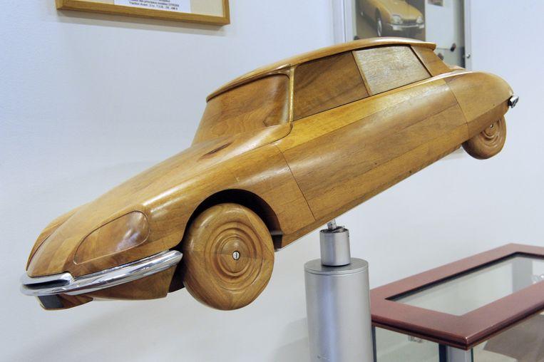 Ontwerper: Flaminio Bertoni, Citroën DS. 'Flaminio Bertoni was ook een loner, zeer eigenzinnig.' Beeld AFP