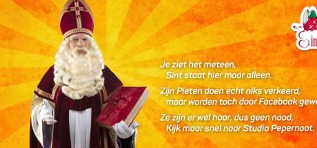 Facebook treitert Bergse Stichting Sint Nicolaas: pietenfoto in de ban