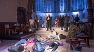 Vluchtelingenproblematiek als een sprookje in oude kapel