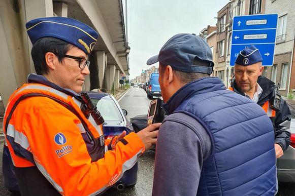 De korpschef nam onder meer een ademtest af bij de vaststelling van een ongeval.
