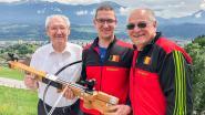 Kruisboogmaatschappij De Verenigde Vrienden uit Meer is actief in Oostenrijk