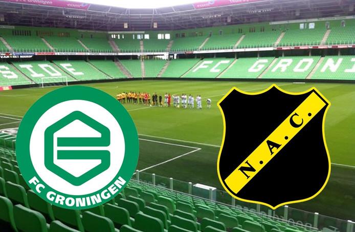 FC Groningen - NAC oefenduel
