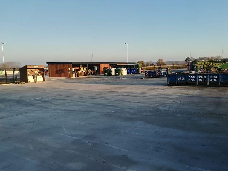 De openingsuren van het recyclagepark in Wortegem-Petegem zijn aangepast tijdens de hittegolf.