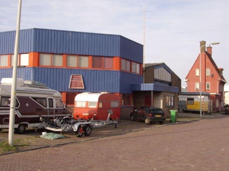 Vrijplaats De Vloek in Scheveningen. Beeld