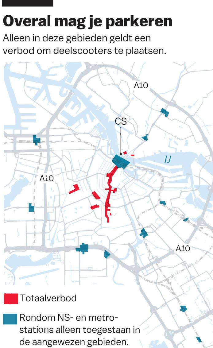 Plaatsen Rond Amsterdam.Deelfietsen Nee Amsterdam Zet In Op De Deelscooter