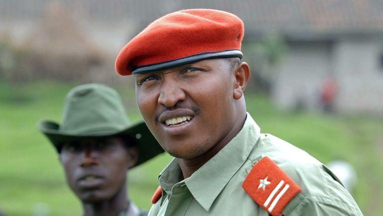 Een foto van Ntaganda in 2009 Beeld ANP