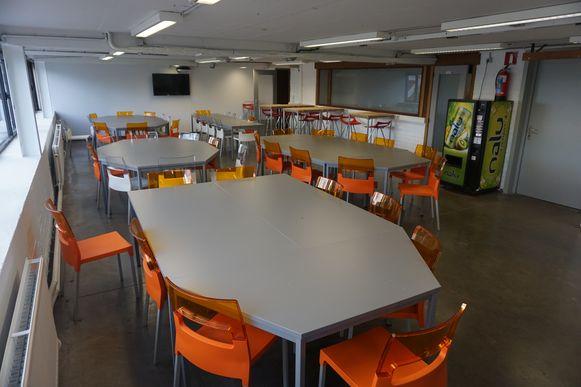 Er is ook een cafetaria voor de medewerkers.