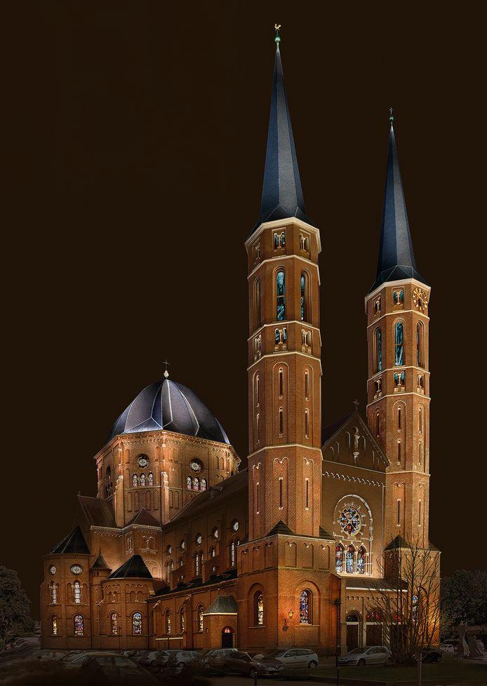 De Petruskerk in Uden krijgt nieuwe verlichting. De website daarvoor heeft geld gekregen van het Udenfonds.