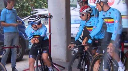 """Alle Belgen rijden EK: """"Iedereen samengeroepen voor een kleine babbel"""""""
