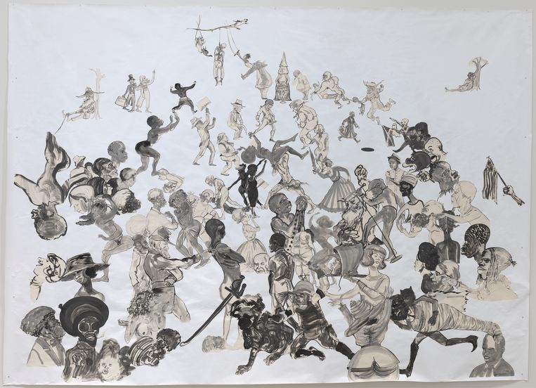 Kara Walker, Christ's Entry into Journalism. Beeld  Digital image, The Museum of Modern Art, New York/Scala, Florence