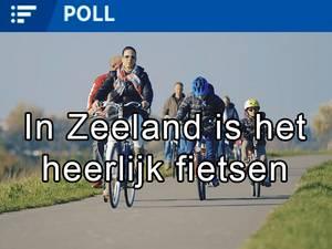 Zeeland legt fietstoerist in de watten