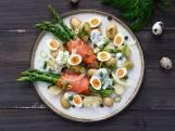 Wat Eten We Vandaag: Groene asperge-zalmrolletjes