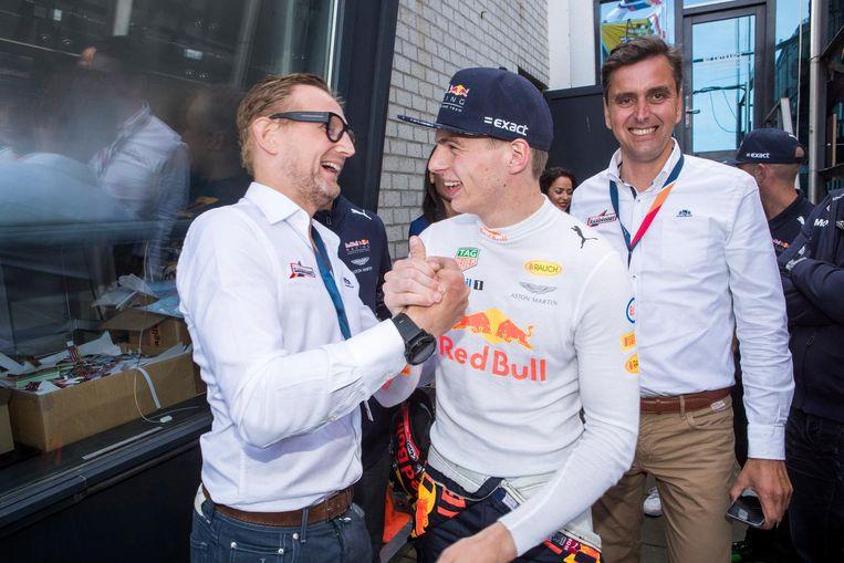 Bernhard met Max Verstappen in Zandvoort. Beeld Hollandse Hoogte
