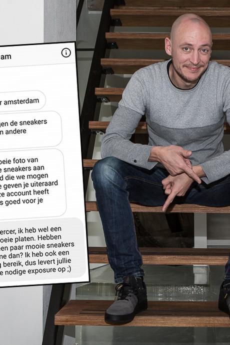 Deventenaar ruilt foto van wereldster voor peperdure sneakers
