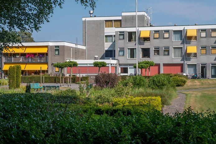 Woonzorgcentrum Rehoboth in Wapenveld.  De geteste medewerkers zijn niet besmet met het coronavirus