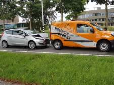 Lichtgewonden bij kop-staartbotsing in Wageningen