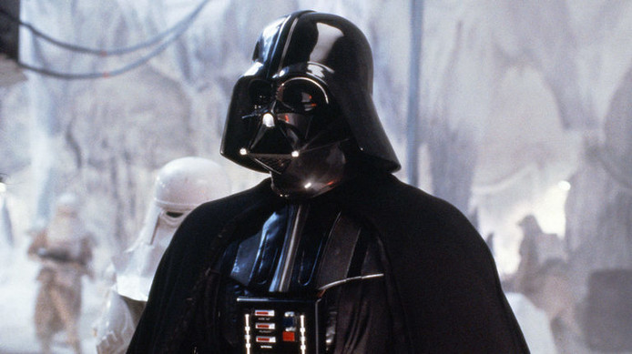 Darth Vader: 'Now, release your anger. Only your hatred can destroy me.'
