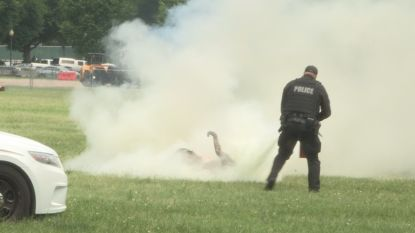 Man die zichzelf in brand stak bij Witte Huis is overleden