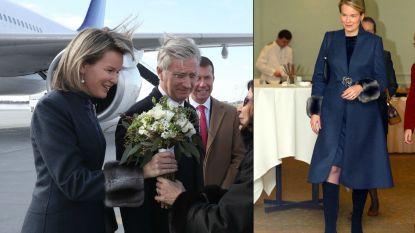'Queen of recycling' Mathilde: onze koningin draagt bewust kledij opnieuw