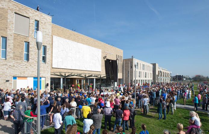 De opening van het Ontmoetingshuis in 2014.
