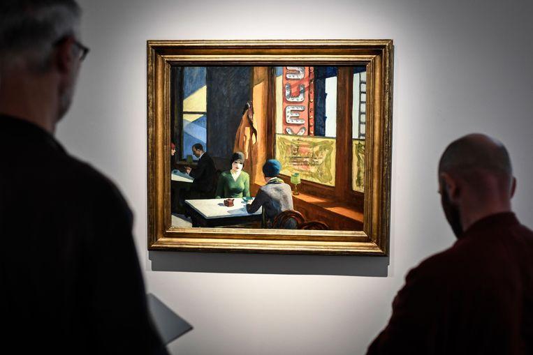 'Chop Suey' van Edward Hopper.