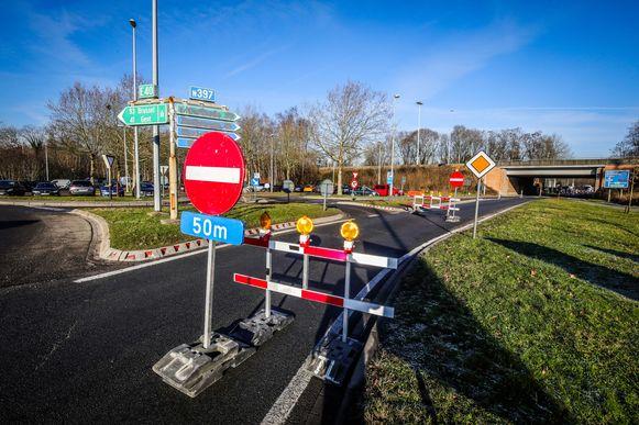 In Loppem zijn de werken al een paar maanden aan de gang.