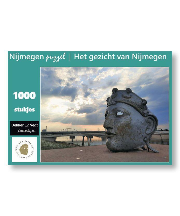 Nijmeegse geschenken: legpuzzel van Het gezicht van Nijmegen.