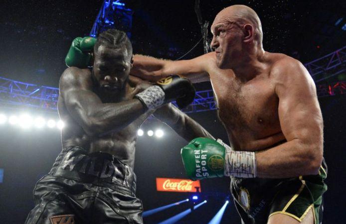 Tyson Fury vs Deontay Wilder.