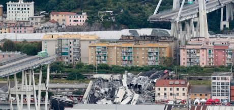 Snelwegbrug in Genua ingestort, 35 doden