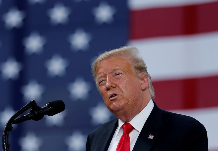 President Donald Trump  Beeld REUTERS