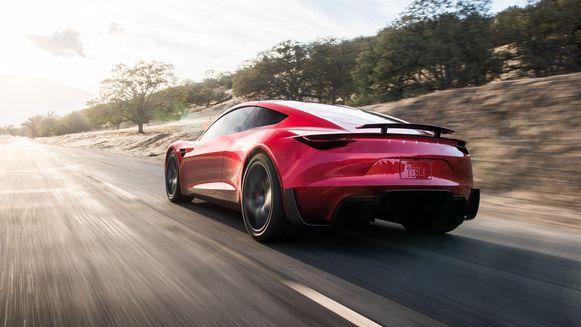 De Tesla Roadster.
