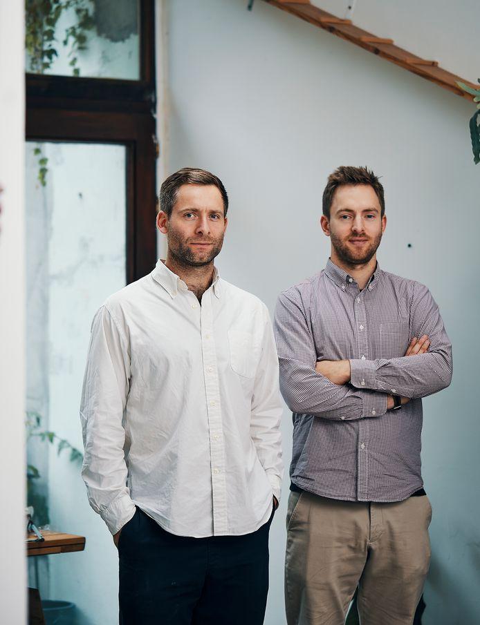 Clement (l.) en Henry Van Vyve, de nieuwe zaakvoerders.