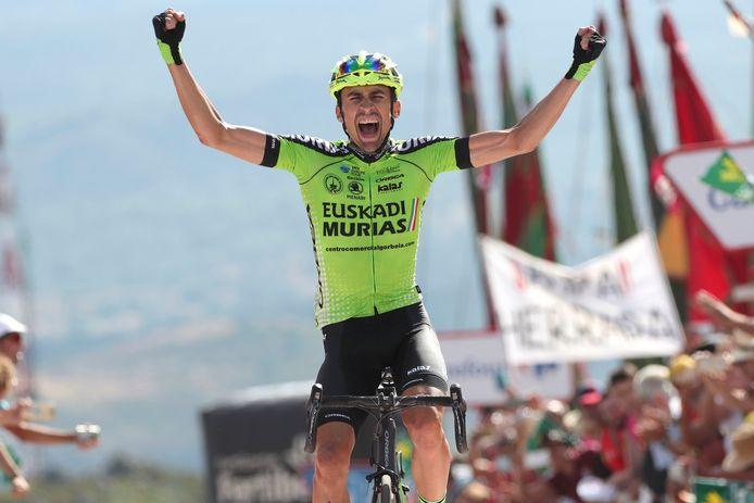 Oscar Rodriguez won vorig jaar de dertiende rit in de Ronde van Spanje.