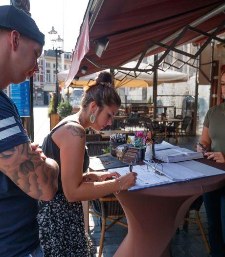 Gasten in Bergse restaurants hebben alle begrip voor registratieplicht: 'Vooral veel complimenten'