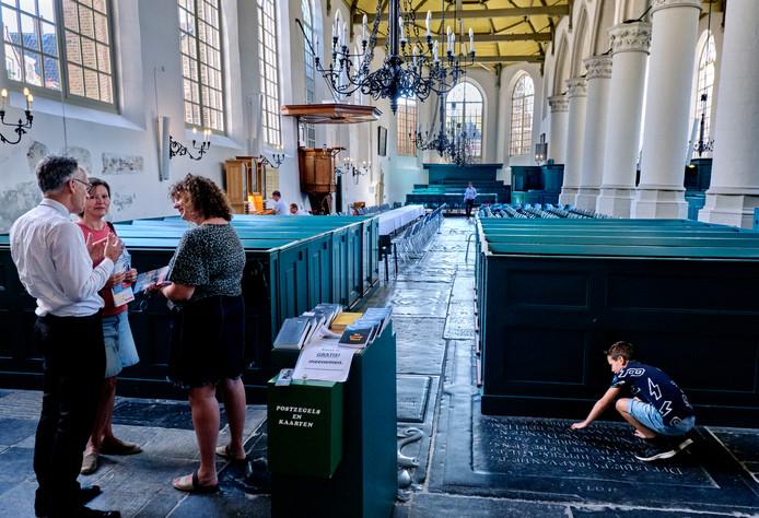 De Augustijnenkerk aan de Voorstraat.