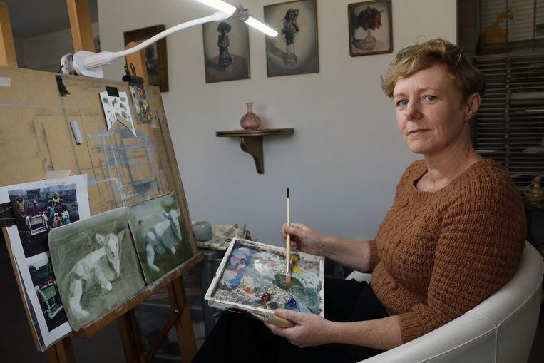 Veerle Stevens is één van de deelnemende kunstenaars.