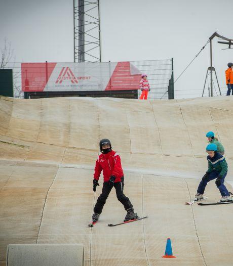 Geen sneeuw maar wel skiën in Alverna