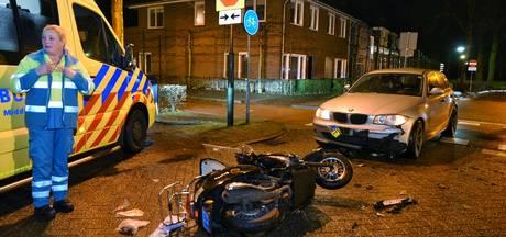 Scooterrijdster geschept in Oisterwijk