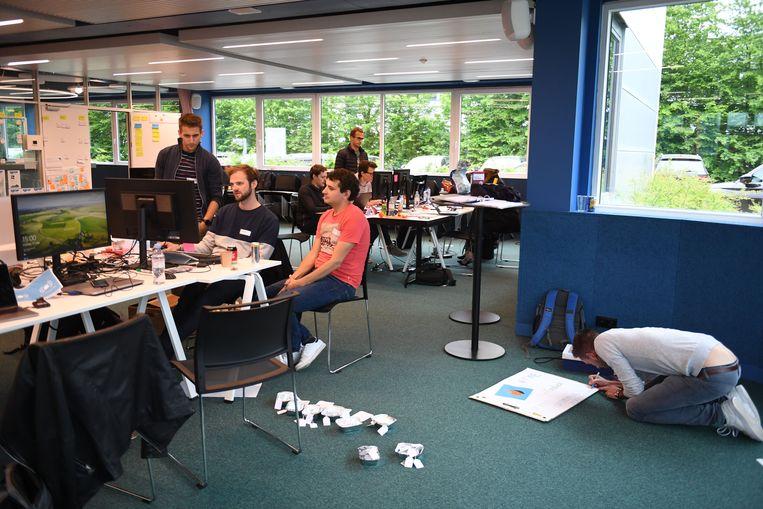 36 uur durende hackathon in Leuven.