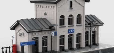 Je moet iets in coronatijd: liefhebbers in hele wereld bouwen station Vught na met Legosteentjes