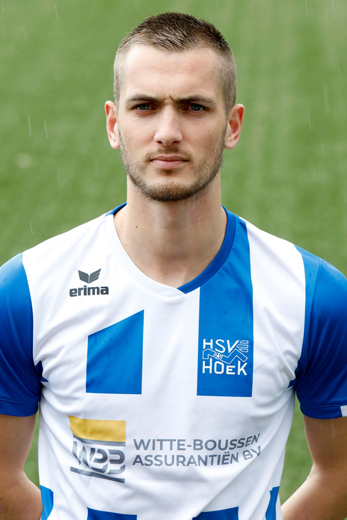 Ruben de Jager, speler van HSV Hoek